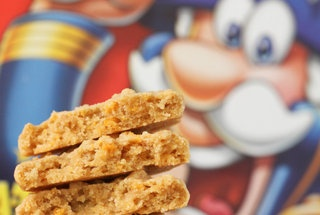 Cap'n Crunch Peanut Butter Cookie Stackers — Recipe from Picky ...