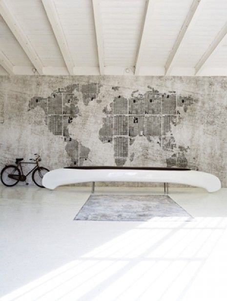 Interieurideeën | Werelds behang. Door -Sabine-