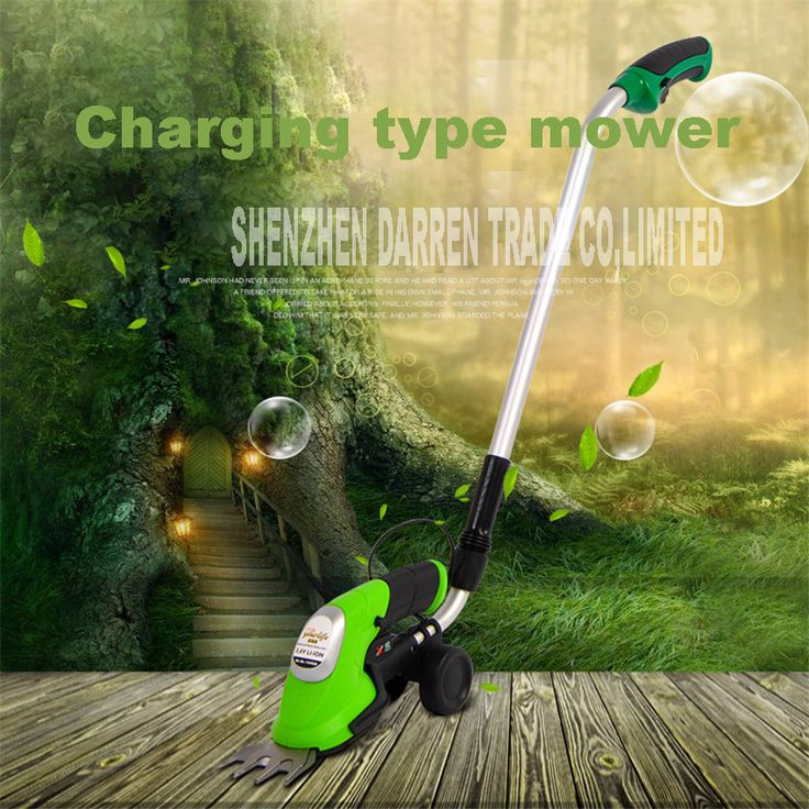 1000/min 3.6V DC lithium battery portable rechargeable electric mower MG809 grass shears small grass trimmer mower hot selling
