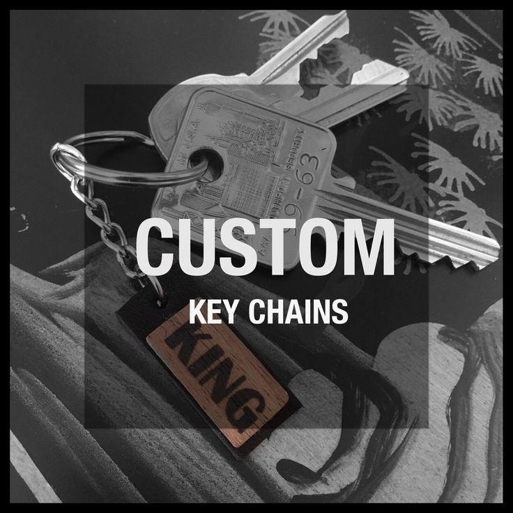 """CUSTOM"" Key Chain"