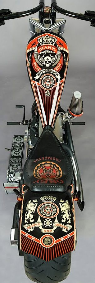 I'm in love!! OK  HB uh uh!!!!! Obey Motocycle!! Can't believe my eyes!!!!