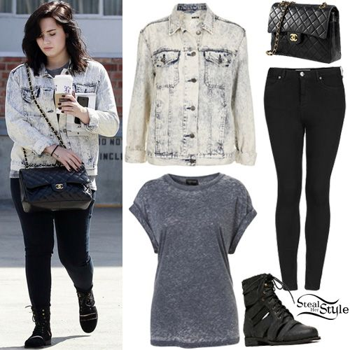 Demi Lovato Casual Style 2013 Images Galleries With A Bite