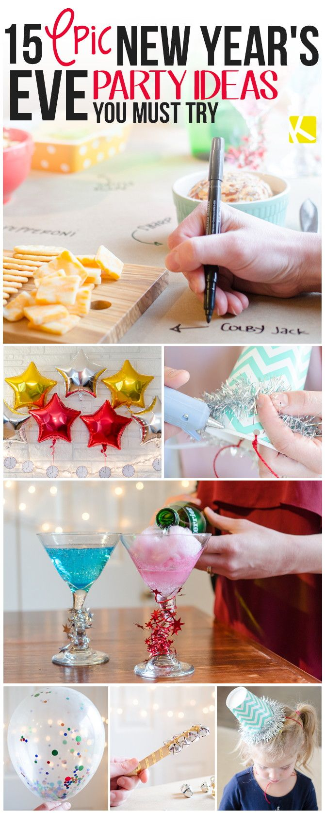 15 Epic New Year's Eve Party Ideas You Must Try