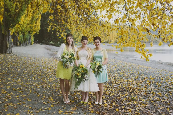 Autumn bouquet by the lake in Wanaka. Pic: alpineimageco Florals: http://wanakaweddingflowers.co.nz/gallery/bouquets/