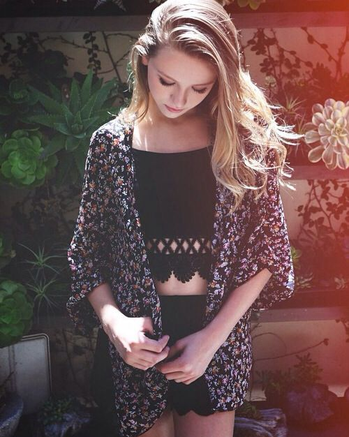 Autumn Miller <3 her confidence and talent and love HER. just her. <3