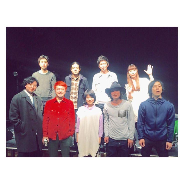 本日スタートのシュローダーヘッズさん アルバム『特異点』リリースツアー! 本日水戸と、明日の宇都宮とKeishi Tanakaさんバンドで参加させて頂いてます☺︎ 初日の本日はReiさんもご一緒させて頂いて、シュローダーヘッズさんもReiさんも素晴らしかったー!! 明日も楽しみ   #schroederheadz #keishitanaka