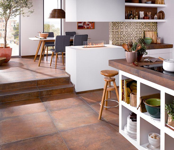 Die 25+ Besten Wohnzimmer Fliesen Ideen Auf Pinterest | Fliesen ... Fliesenboden Modern Wohnzimmer