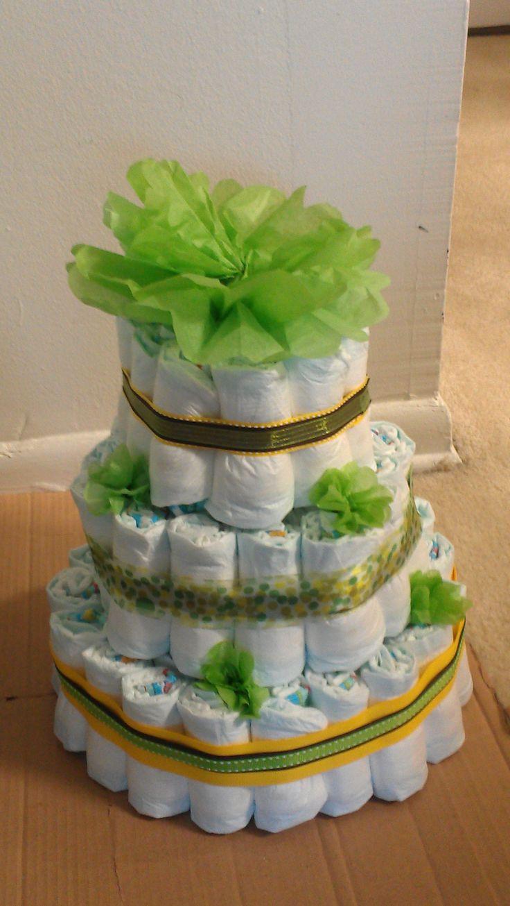 my unknown gender diaper cake shower ideas baby gifts baby hands
