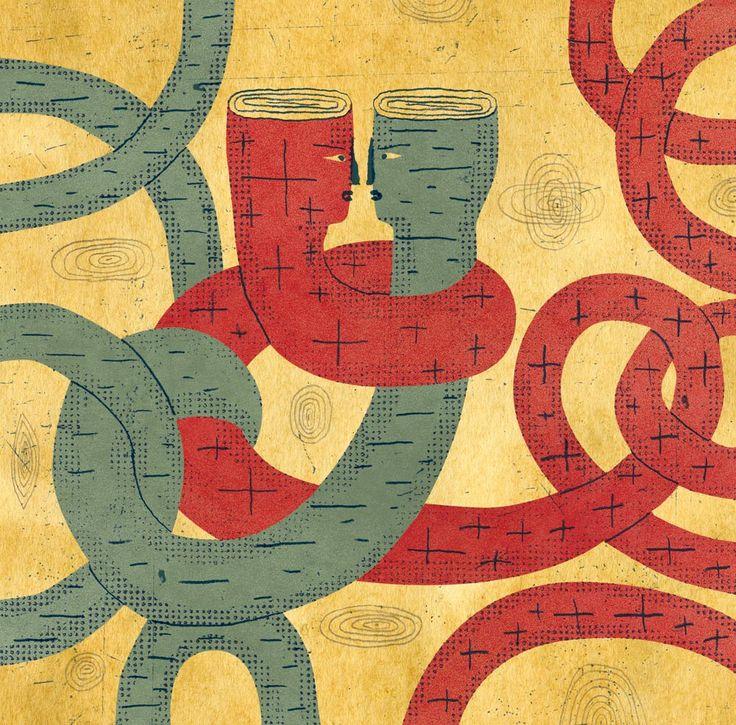 DAVID PLUNKERT ILLUSTRATION: ATTRACTION