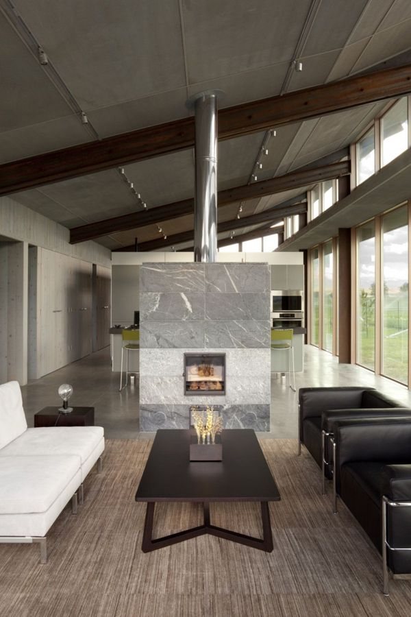 Stunning glass farmhouse by Olson Kundig Architects