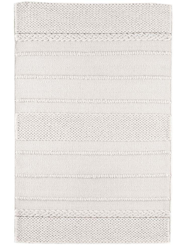 Handmade Cream Wool Rug
