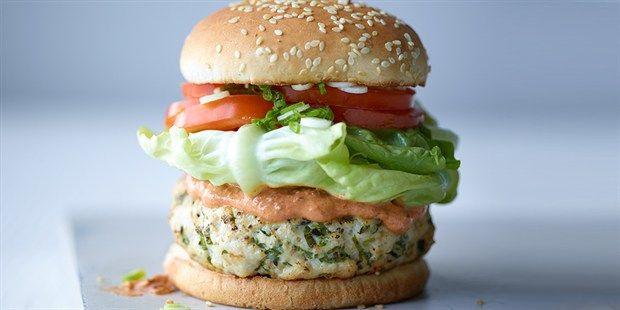 Try this Joe's McLeanie burger recipe by Chef Joe Wicks.