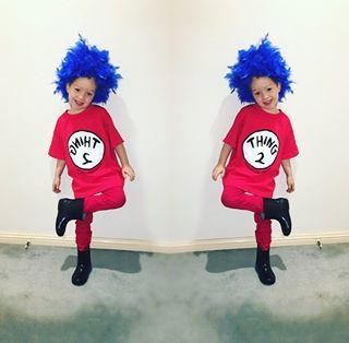And this clever Thing 1 and Thing 2. | 19 Kids Who Completely Nailed Their Book Week Costumes