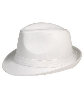 Private Island Party  - Classic White Fedora Hat, $6.99   Are you talkin' to me? Are you talkin' to me? As soon as you put this hat on you'll be reciting Scarface in front of your mirror. The timeless style and signature gangster look of our classic white fedora hat is sure to be a crowd pleaser.