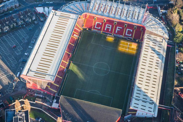 .O estádio Vale do Charlton Athletic Football Club
