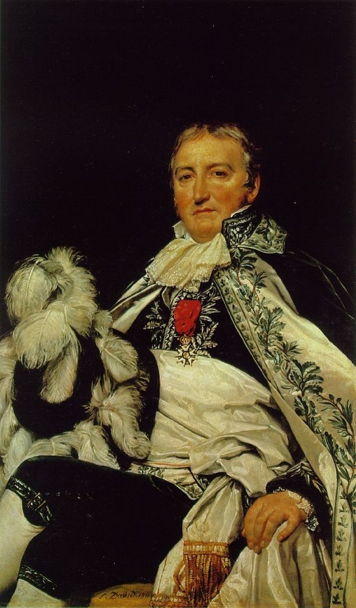 Jacques Louis David Portrait of Count Antoine Français de Nantes, State Counsellor 1811