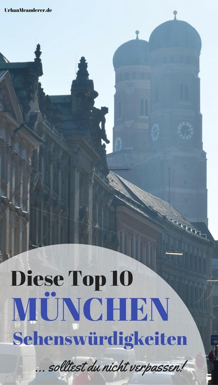Du hast das Glück nach München zu reisen? Lass dir in dem Fall nicht die 10 München Sehenswürdigkeiten entgehen, die ich dir in diesem Artikel beschreibe