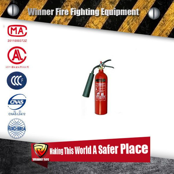 4.5kg mini Car co2 fire extinguisher with good quality with a sprayer