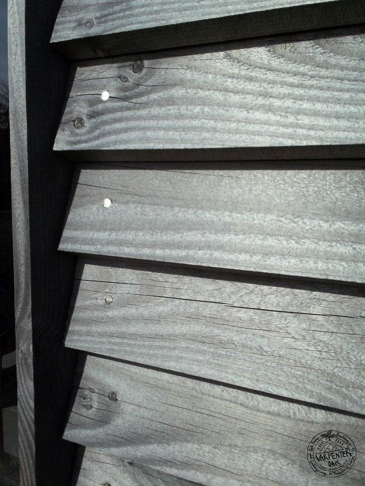 Weatherboarding, External Timber Cladding