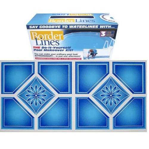 14 best borderlines adhesive pool borders images on - Do it yourself swimming pool kits ...