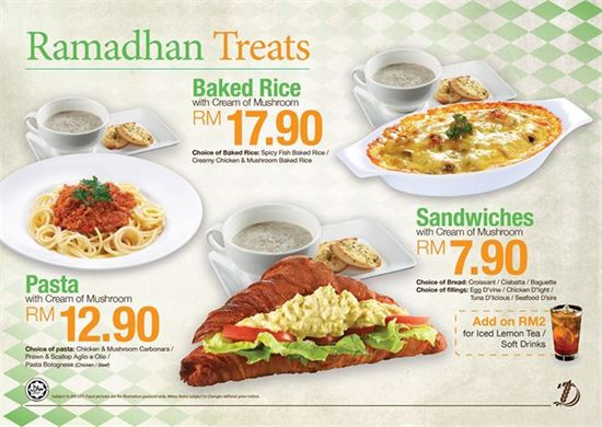 Delifrance Malaysia Are Having Their Ramadhan Treats Now Enjoy Special Offers Great Deals On Their Food Menu And Many More