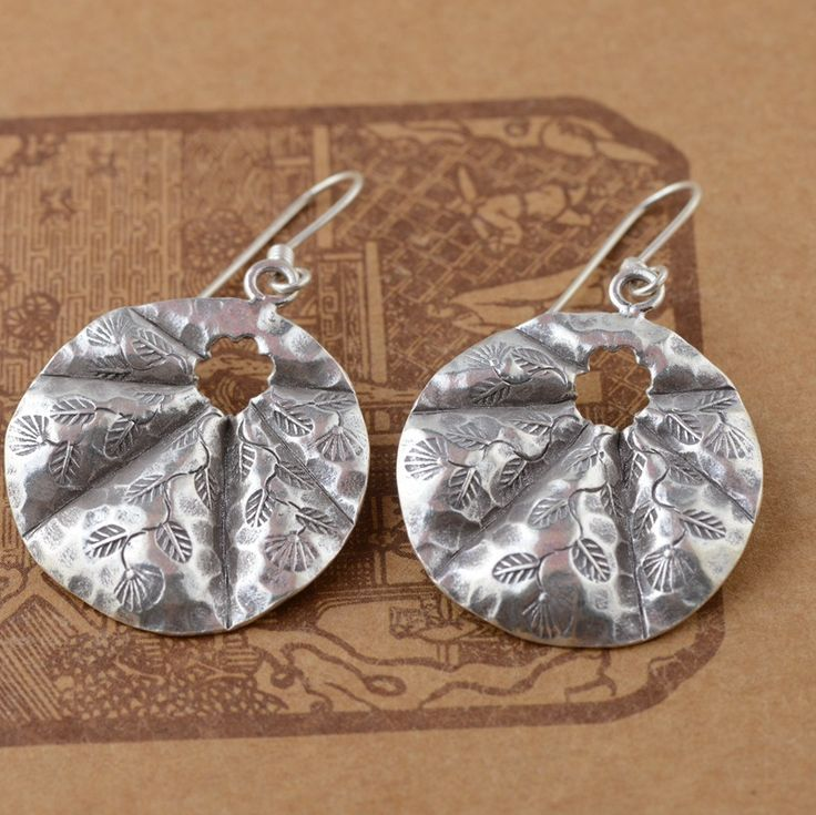 silver earrings wholesale silver deer S925 Sterling Silver Hand Tremella falling Thailand imports of Technology