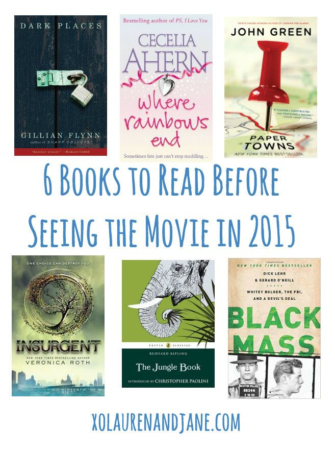6 Books to Read Before They Become Movies in 2015 - xo, lauren and jane