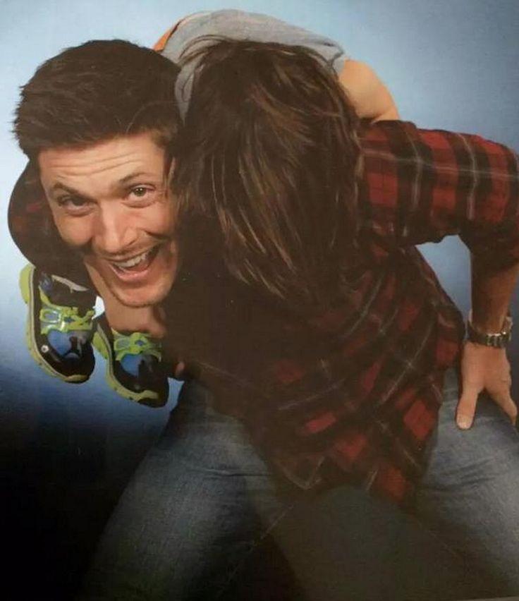 Tom Padalecki and Jensen