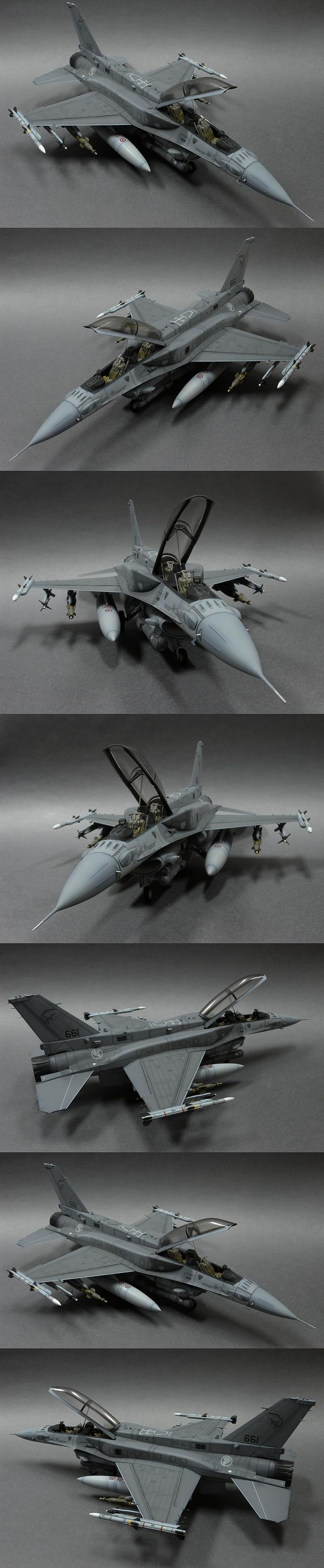 F-16D | #Scale_model 1/35