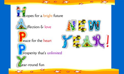 #new_year_greetings to wish friends