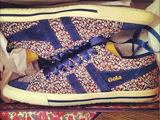 Liberty Print Sneakers by Gola