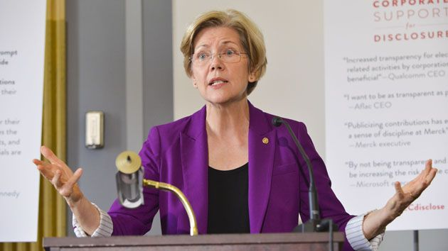 "Elizabeth Warren: Democratic Women Need a Seat at the Governing Table. -------MY FAVORITE LINE: ""If you don't have a seat at the table, you're probably on the menu."""