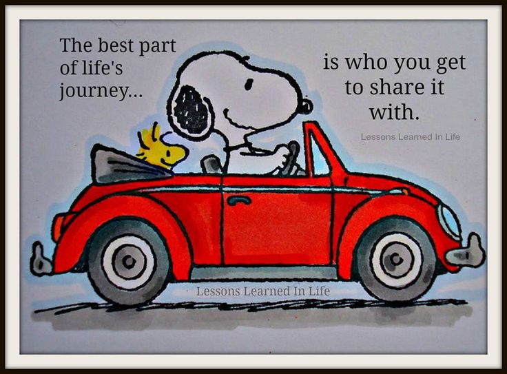 The best part of life's journey...is who you get to share it with!