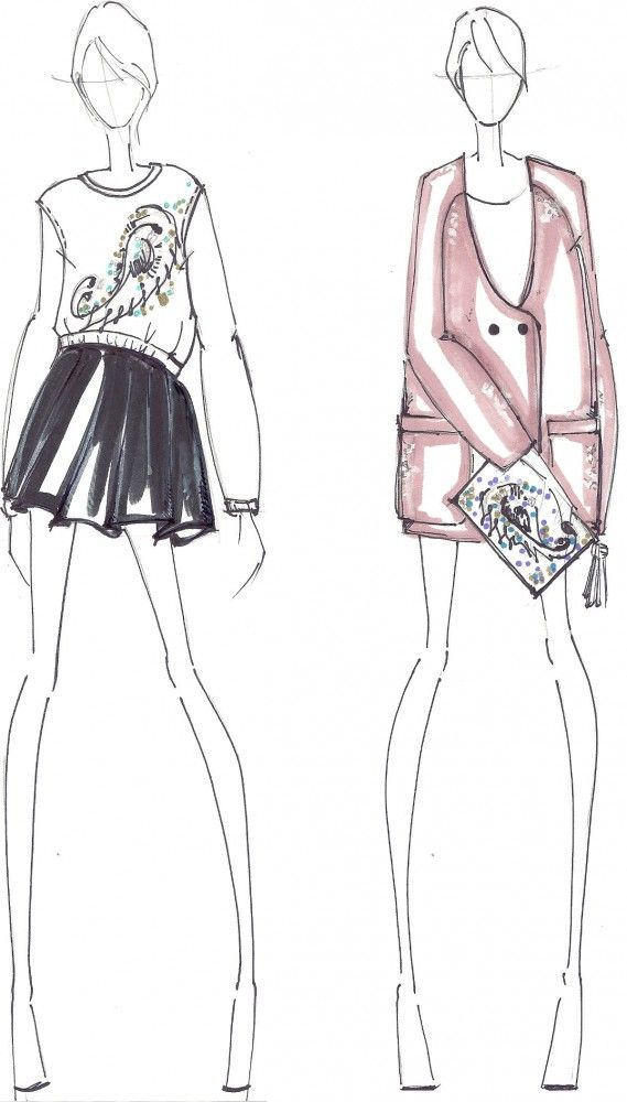 WHIT Fall 2013 #Fashion #Illustration                                                                                                                                                                                 More