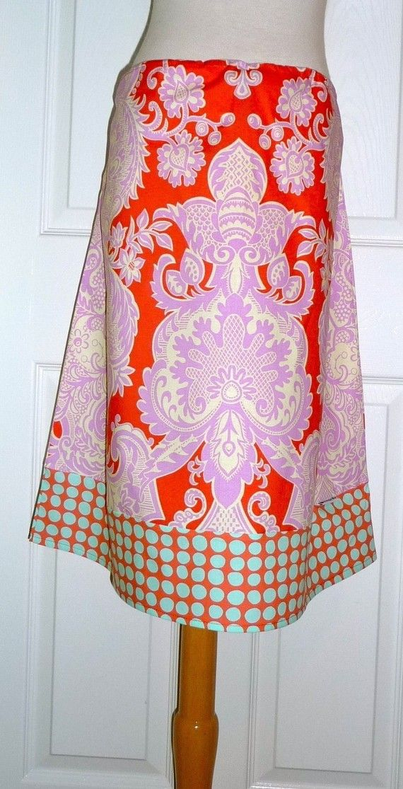 Aline SKIRT  Amy Butler  Love  Made in ANY by BoutiqueMiaByCXV, $44.00