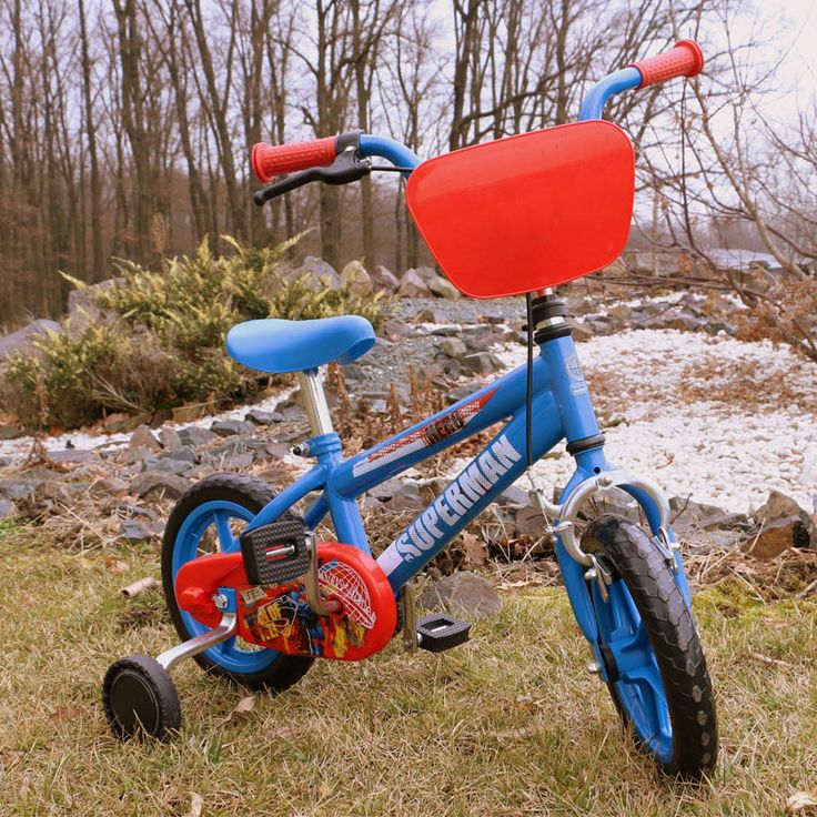 Bicicleta copii Superman albastra Yakari