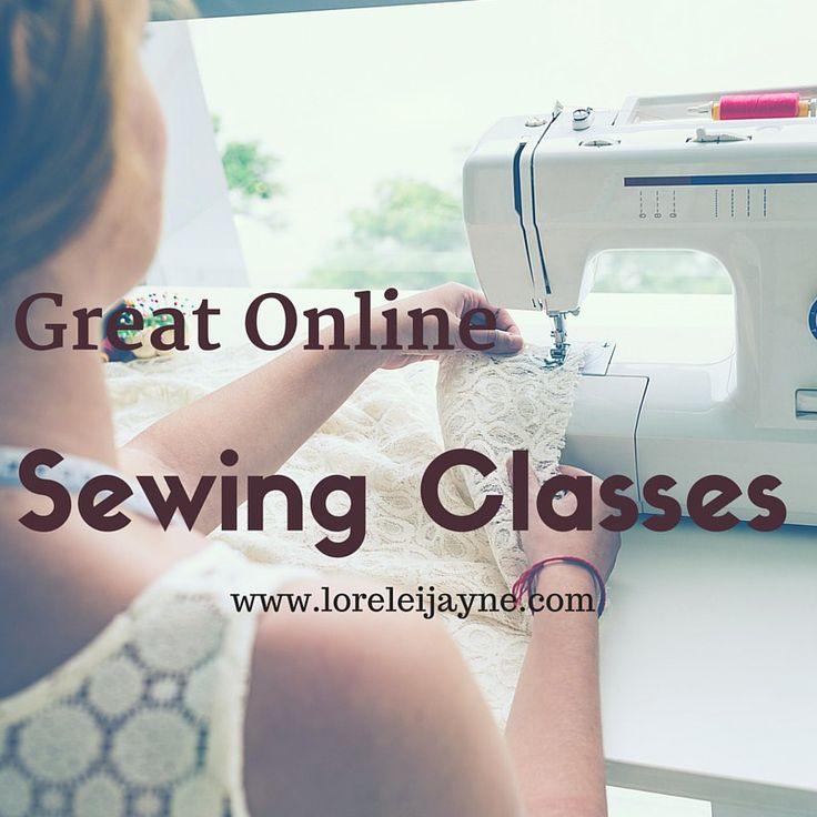 Great Online Sewing Classes