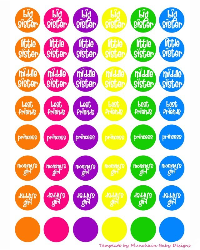 FREE Bottle Cap Images - Hip Girl Boutique Free Hair Bow Instructions--Learn how to make hairbows and hair clips, FREE!