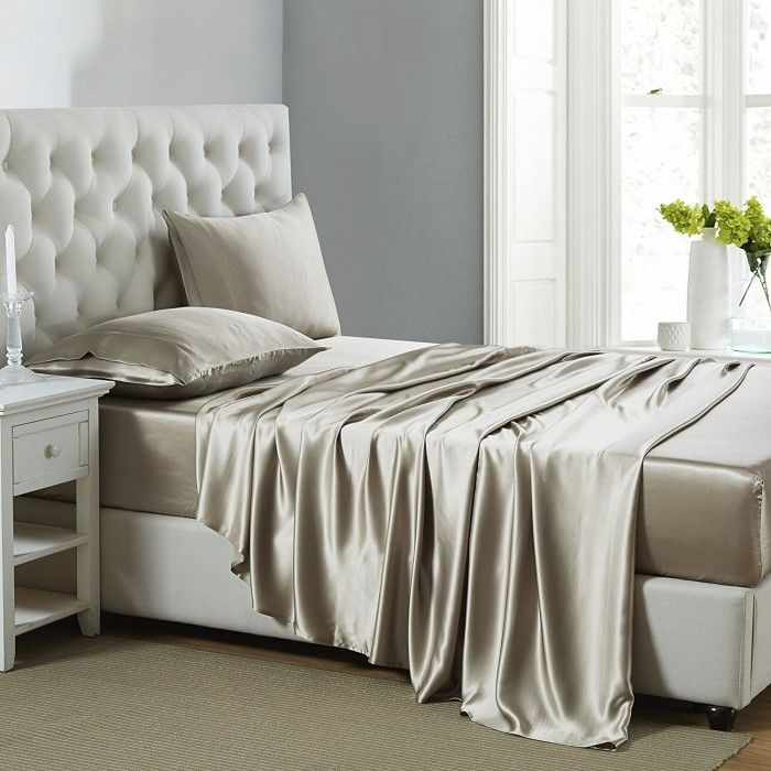 Best 25+ Silk sheet sets ideas on Pinterest | Green bed sheets ...