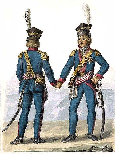 Rotmisrzowie Kawalerii Narodowej - litewskiej-1792/Rittmesiter of the Lithuanian National Cavalry Brigade in 1792