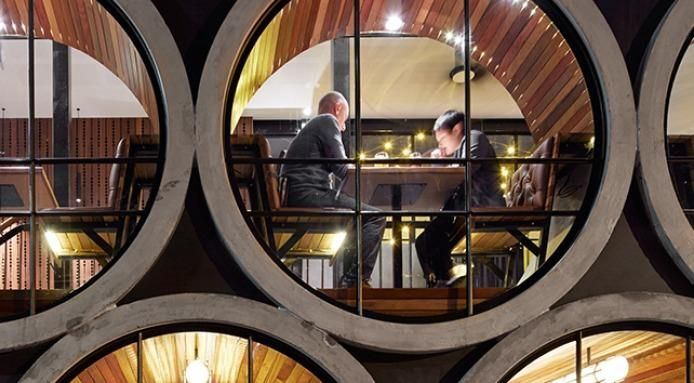 Unique Restaurants: The Pub Made From Giant Water Pipes