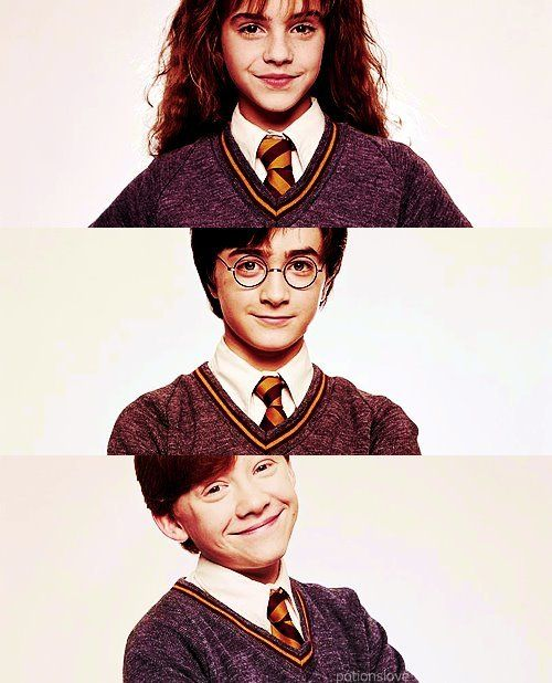 1000 images about harry potter on pinterest - Harry potter hermione granger ron weasley ...