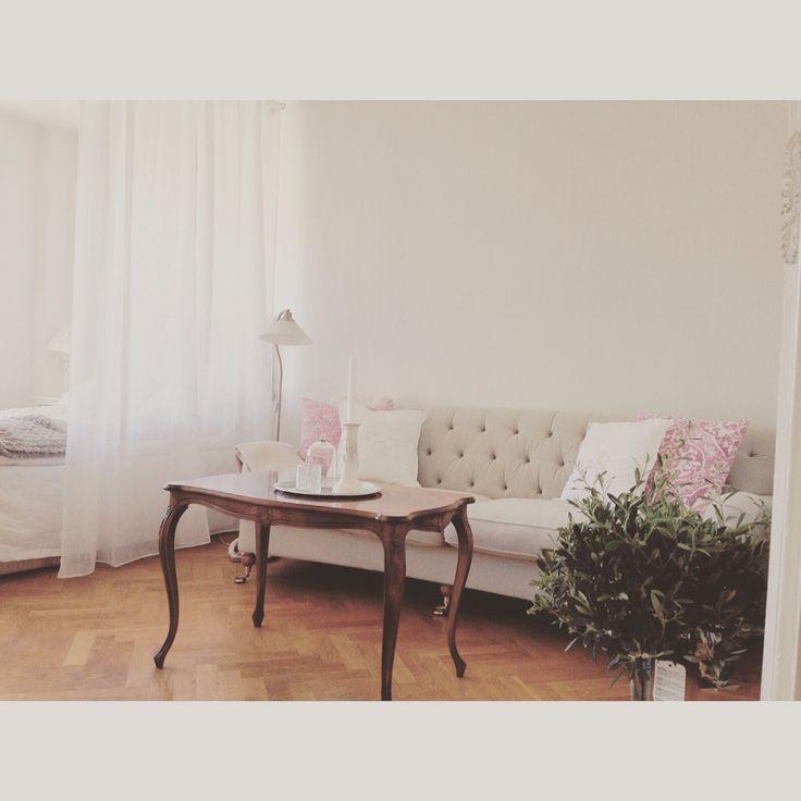 Soffa Mio Barkley rokokobord  Livingroom