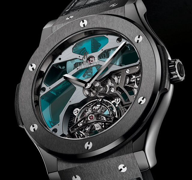 HUBLOT Classic Fusion Tourbillon Vitrail | Watches-News
