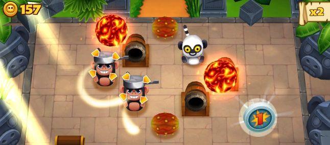Tiki Monkeys: le scimmie dispettose invadono anche Windows Phone http://www.sapereweb.it/tiki-monkeys-le-scimmie-dispettose-invadono-anche-windows-phone/   Tiki Monkeys, divertente gioco action disponibile da alcuni mesi per Android e iOS, arriva, finalmente anche su piattaforma Windows Phone. Un titolo immediato, piacevole, curato graficamente, decisamente adatto a sessioni di gioco in spiaggia sotto l'ombrellone o comodamente sdraiati sul...