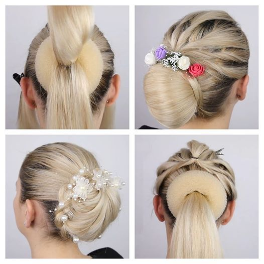 Do you ever look at pretty updo hairstyles and think