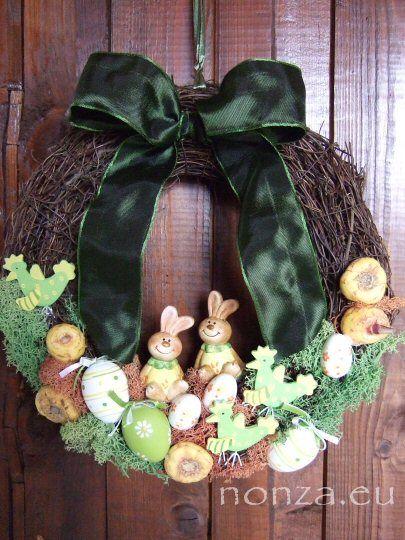 Húsvéti ajtókoszorú