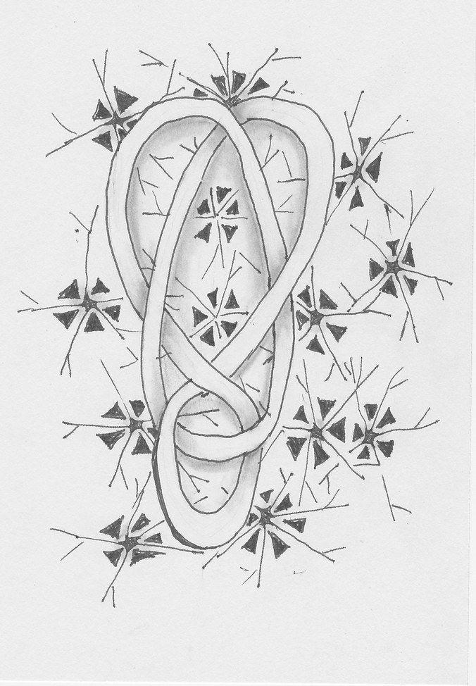 https://flic.kr/p/EQYtHn | keltisch hart met ijsblomme | celtic heart , background with ijsblomme jskunstweven.wordpress.com/ijsblomme/