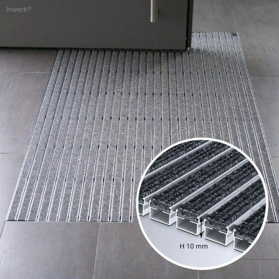 Schmutzfangmatte Emco Diplomat R Hohe 12mm Bodenschutzmatte Eingang Gefangen