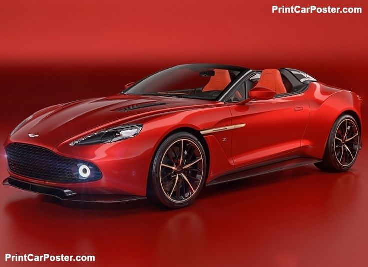 Aston Martin Vanquish Zagato Speedster 2017 poster, #poster, #mousepad, #tshirt, #printcarposter